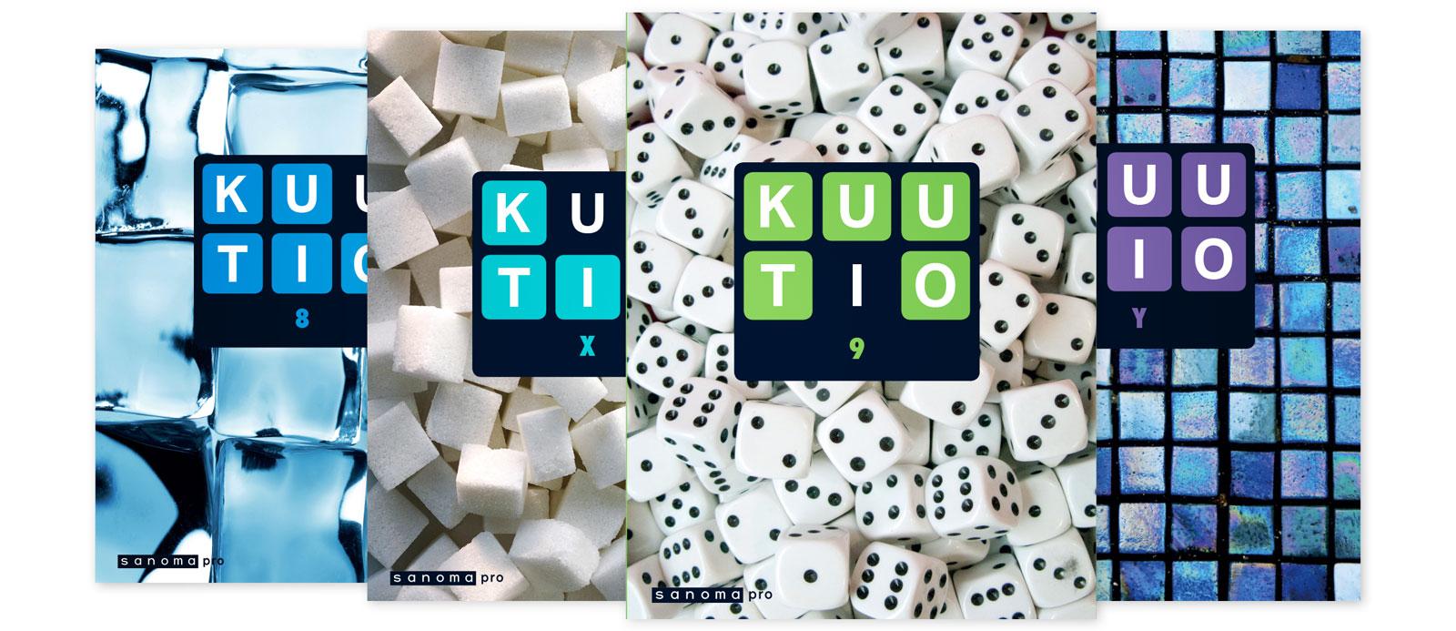 Sanoma Pron yläkoulun matematiikan Kuutio-sarja