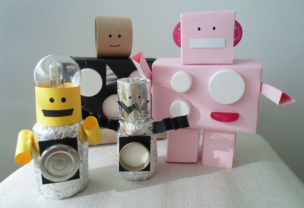 Sanoma Pro askarteluvinkki Milli-robotit