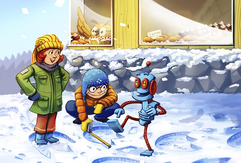 Sanoma Pron opevinkit talveen