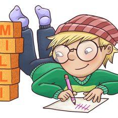 Sanoma Pron alakoulun matematiikan sarja Milli
