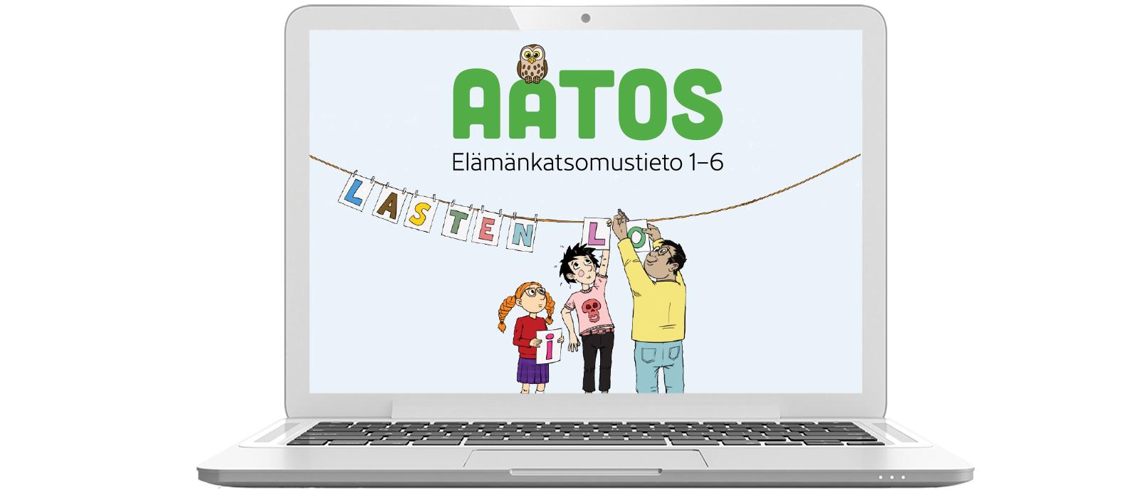 Sanoma Pron alakoulun elamankatsomustieto Aatos