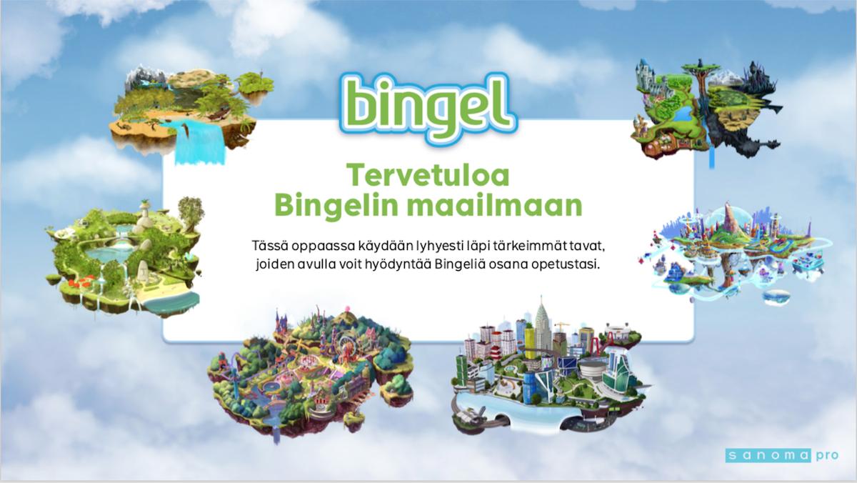 Sanoma Pro Bingel