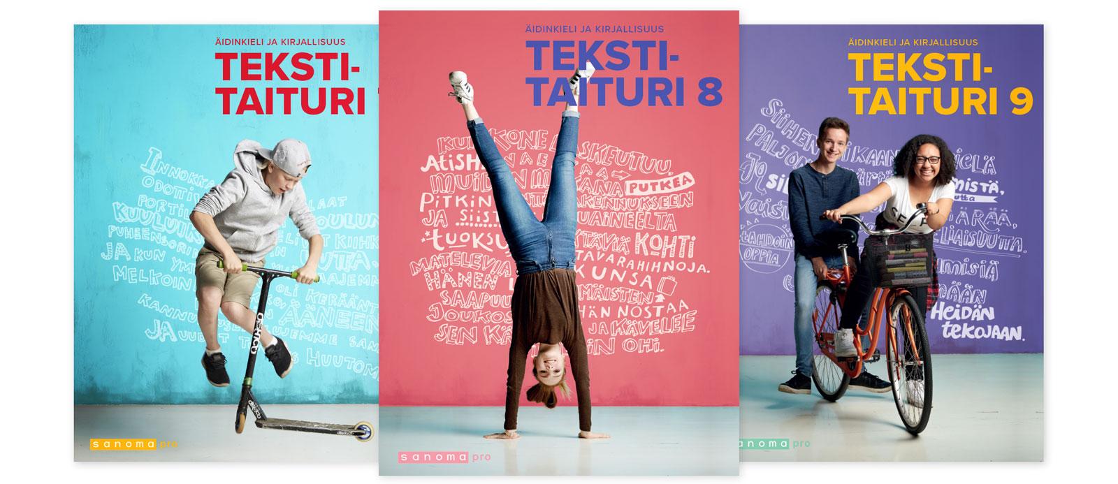 Sanoma Pron yläkoulun äidinkielen sarja Tekstitaituri