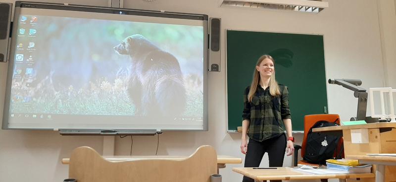 Vuoden kieltenopettaja Reetta Pänkäläinen