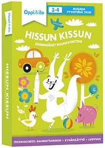 Oppi&ilon Hissun Kissun -puuhakortit 3-4 -vuotiaille