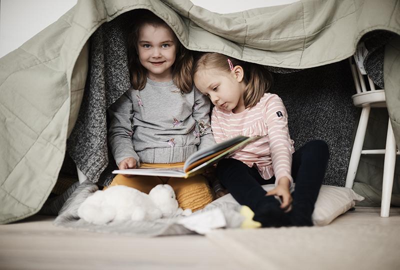 Eväitä lapsen lukutaidon kehittämiseen.