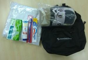rucksack for refugees UK DART