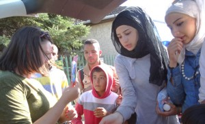 Tears and Generosity in Serbia