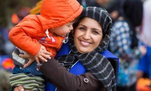 Aid for Refugees on Samos Island