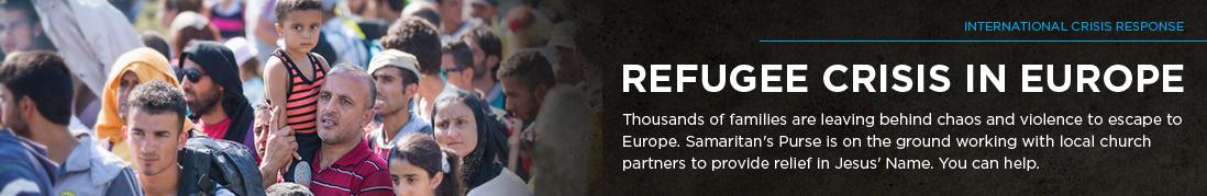 Refugee Crisis In Europe Header