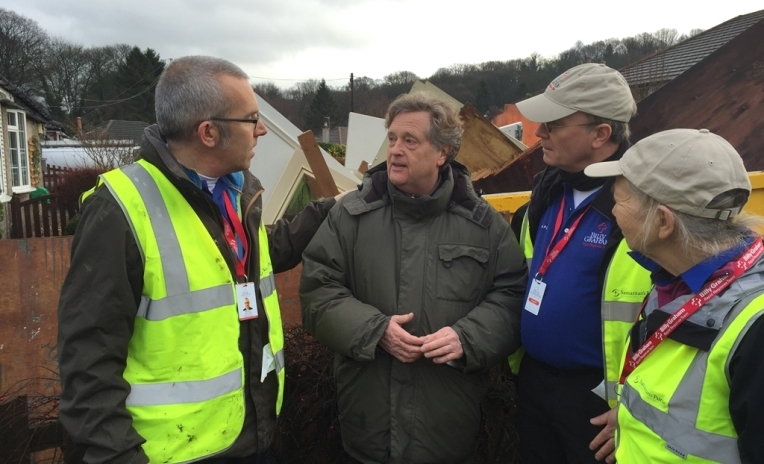 Update On Response To Flooding In The UK