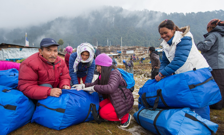 Winter Relief Reaches Freezing Nepalis