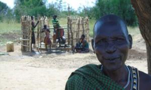 Nangiro Paul at Looi borehole