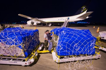 Samaritan's Purse staff were busy loading the plane last night and this morning in preparation for the airlift to Ecuador. We are rushing relief to hurting people in the wake of a deadly earthquake.