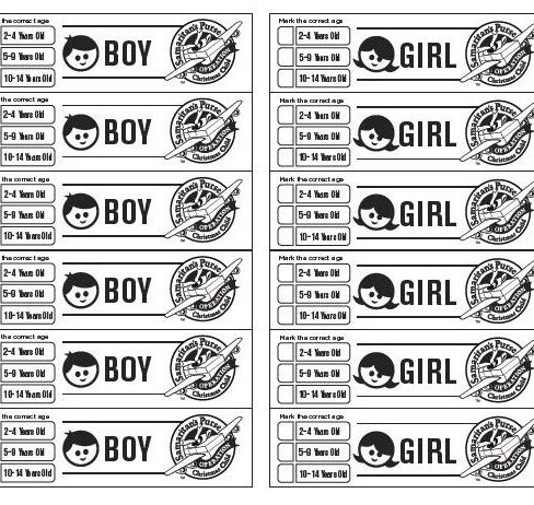 label sheet bw