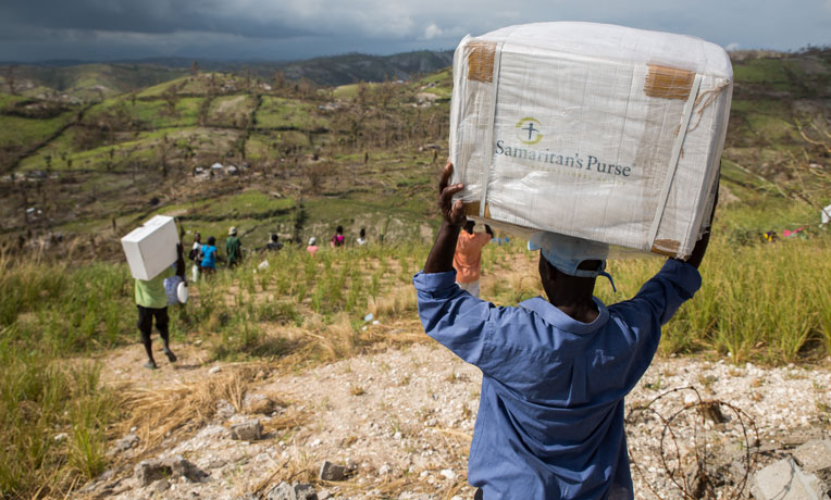 Hurricane Relief Delivered to Hurting Families in Haiti