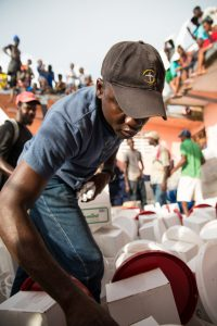 OUR STAFF DISTRIBUTE SHELTER AND WATER SUPPLIES TO VILLAGES AND TOWNS ALONG HAITI'S SOUTHERN PENINSULA.