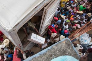 DISTRIBUTIONS OF NON-FOOD RELIEF ITEMS HAVE HELPED THOUSANDS OF HAITIANS.