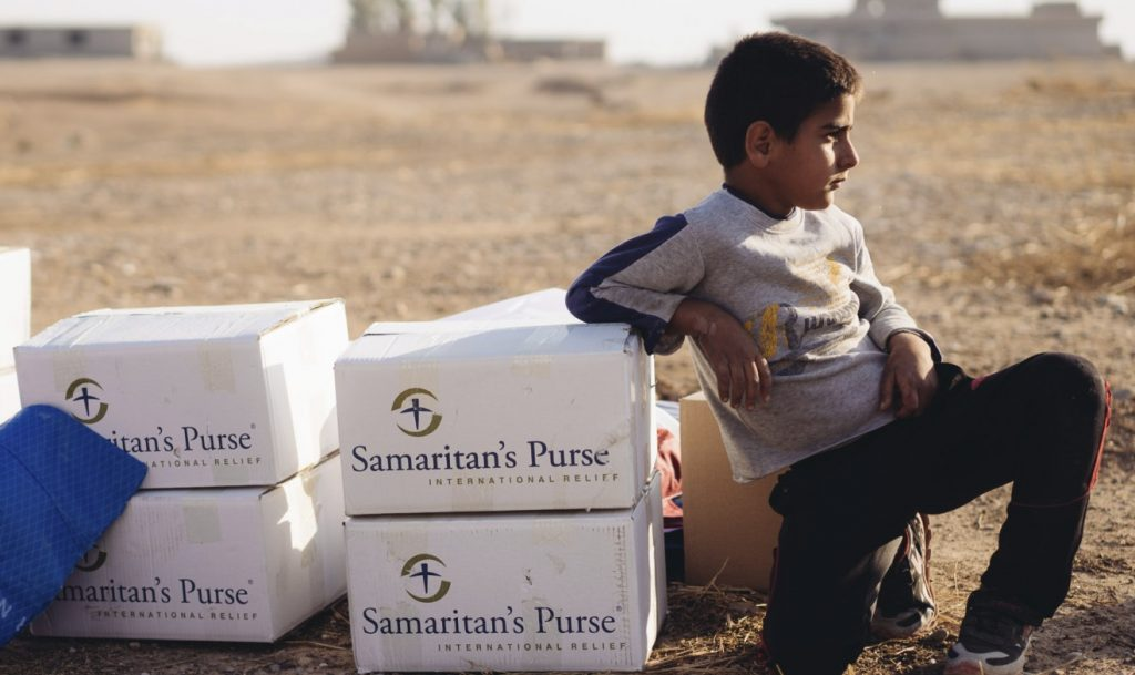 ON THE 7th of NOV, 425 FAMILIES IN KHAZER CAMP RECEIVED CRITICALLY NEEDED FOOD.