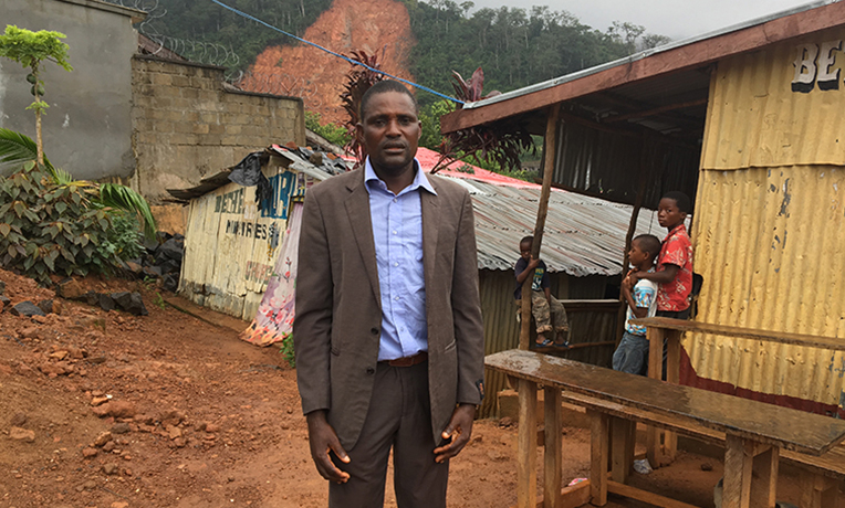 Pastor John Mansaray is grieving with his community after devastating mudslides and flooding claimed hundreds of lives in Sierra Leone. Though hurting, he is helping Samaritan's Purse bring relief to many people in the wake of this disaster.