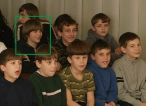 Vladimir as a child at the orphanage