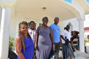 Families receive vital supplies at Harvest Bible Chapel on Turks & Caicos