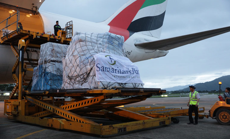 Supplies sent by Samaritan's Purse have now arrived in Vietnam. The relief will help 10,000 families who are suffering after Typhoon Damrey.