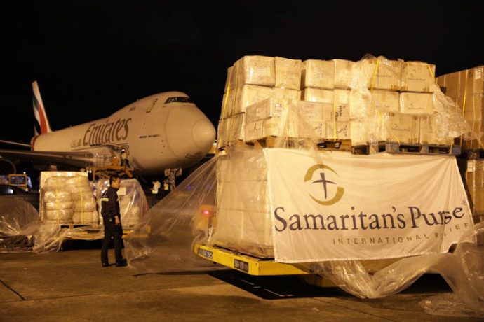 Samaritan's Purse is helping victims of Typhoon Damrey in Vietnam.