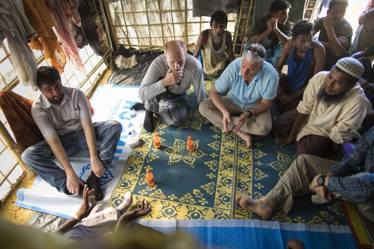 Executive Director, Sean Campbell spent time in the refugee camp on the Bangladesh border recently to talk with Rohingya families to hear their stories.