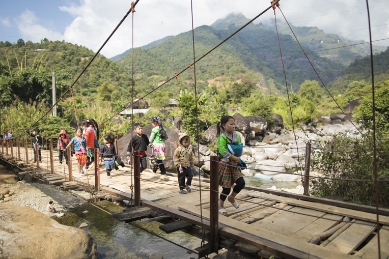 e're working in isolated mountain communities of northern Vietnam.