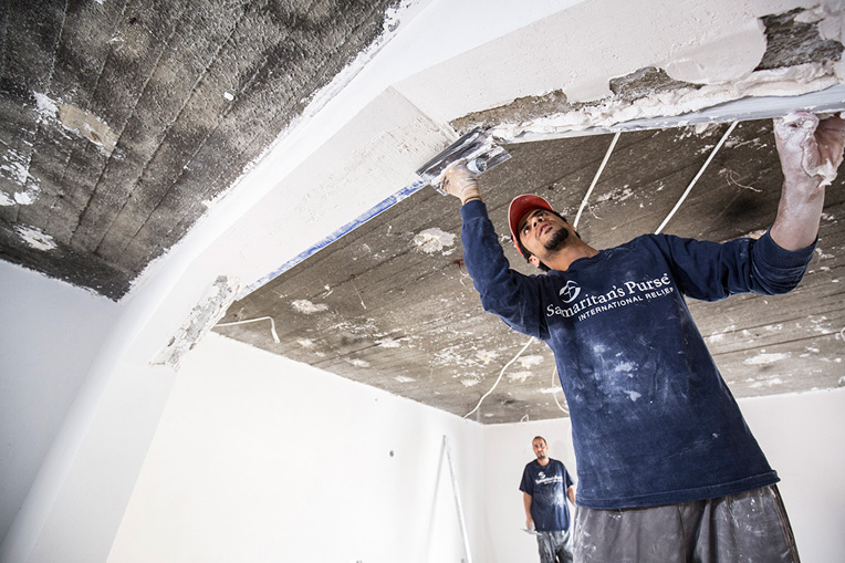 Samaritan's Purse is hiring local contractors to reconstruct homes throughout the Nineveh Plains