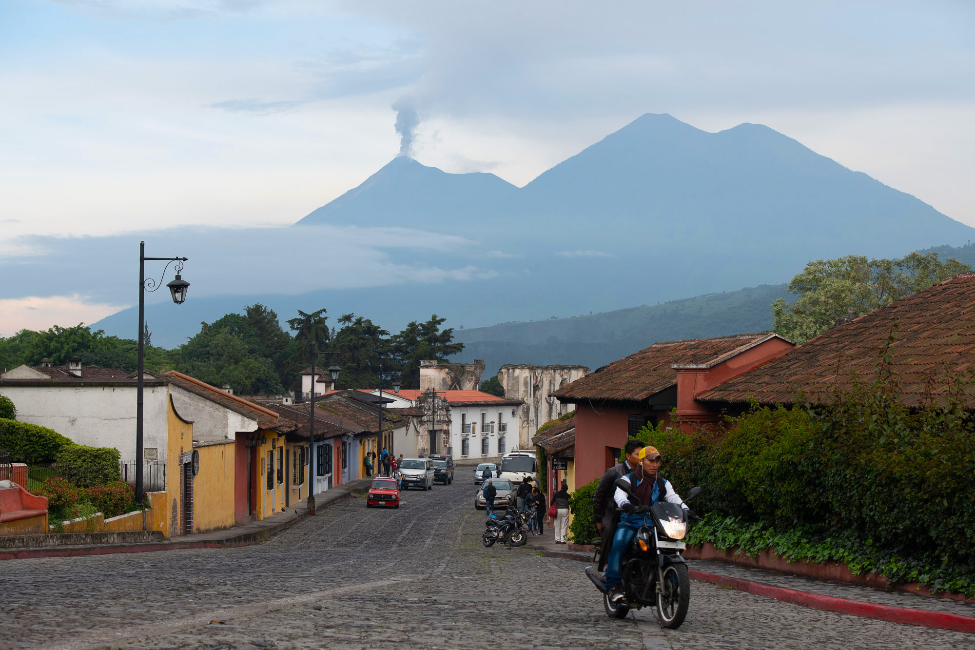 Volcano Fuego recently erupted forcing thousands of distressed residents to flee.