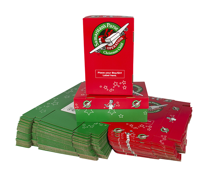 purchase operation christmas child clothing close order preprinted shoeboxes 50 pack of preprinted sheoboxes - Operation Christmas Child Shoebox