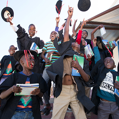 The Greatest Journey graduation celebration in Namibia