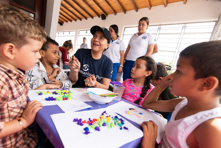 Samaritan's Purse is partnering with a local church in Cucuta to minister to Venezuelan migrants of all ages.