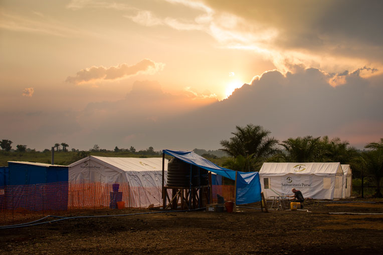 The Ebola Treatment Centre will provide expert and compassionate care in Jesus' Name.