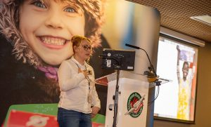 Rebeca share her shoebox story
