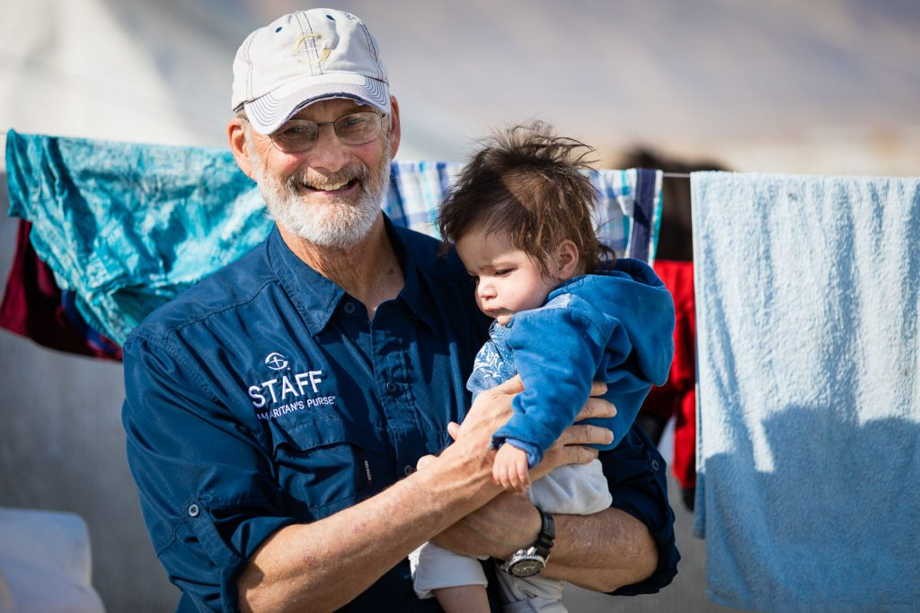 Samaritan's Purse disaster response specialists are caring for refugees in Bardarash camp.