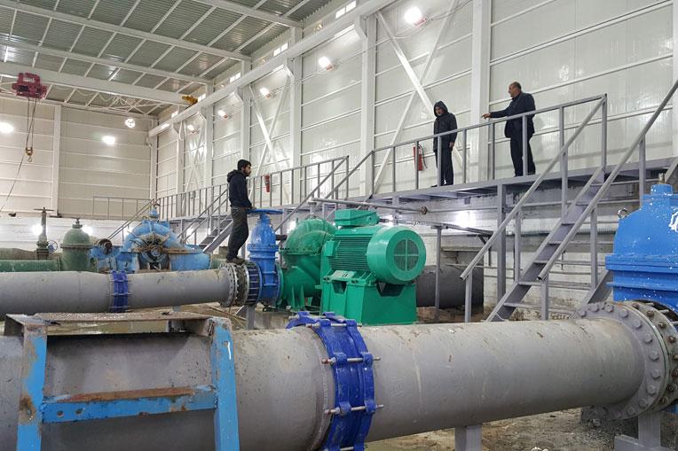 Three pumps were restored to make the irrigation scheme functional again.