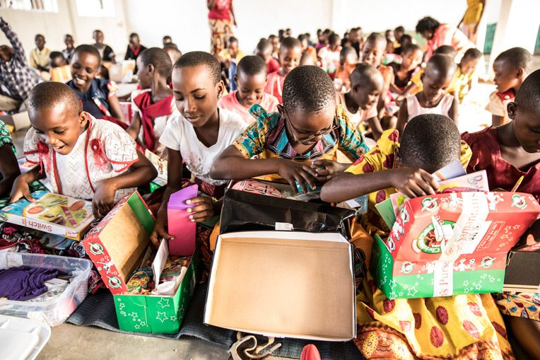 SHOEBOX GIFTS CREATE SMILES AND OPEN DOORS FOR THE GOSPEL IN TANZANIA.