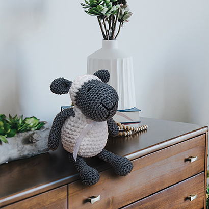 Crochet Bobble sheep