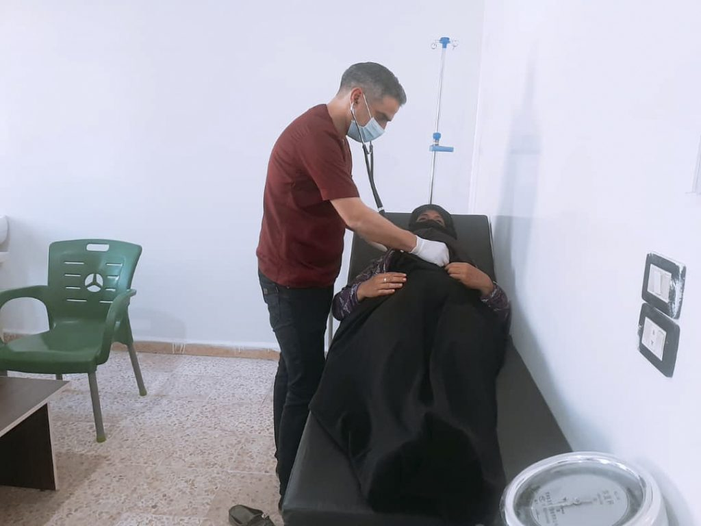 The clinic, operated by a Samaritan's Purse local partner in Syria, treats a wide range of health issues.