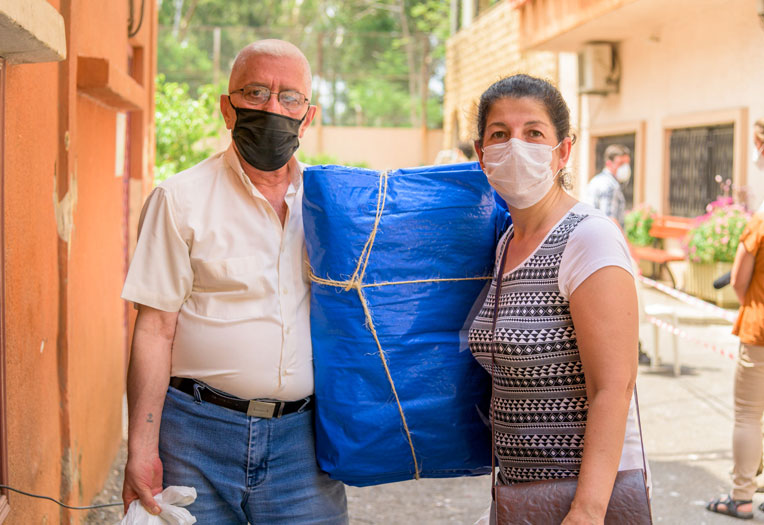 Maral and her family have lived in Beirut for a number of years after fleeing conflict in Syria.
