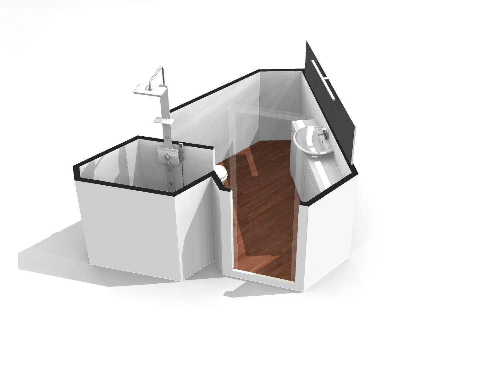 main bathroom original layout furnished homebyme. Black Bedroom Furniture Sets. Home Design Ideas