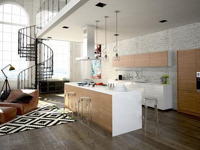 Offene oder geschlossene Küche?   HomeByMe