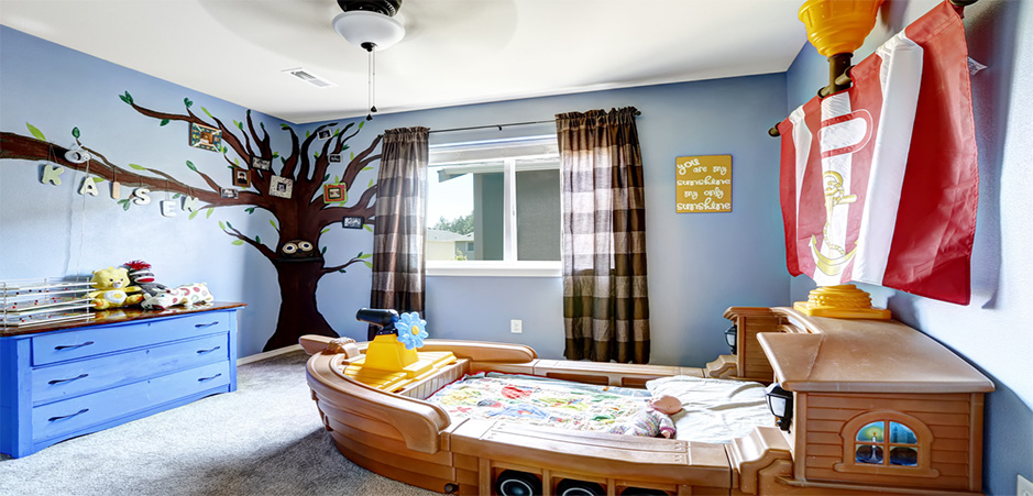 Stay on trend: practical DIY ideas for kids\' bedrooms | HomeByMe
