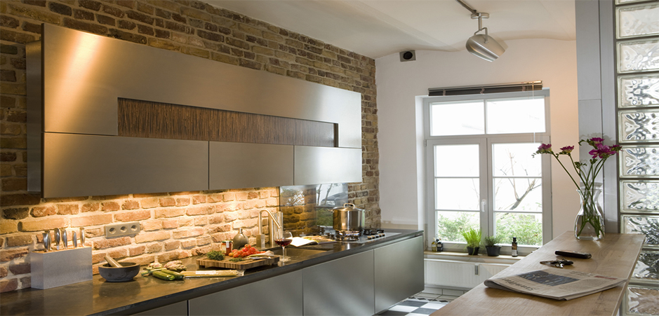Cuisine un clairage adapt aux diff rents espaces homebyme - Planificar una cocina ...