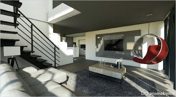 Homebyme hilft Ihnen dabei, Ihre Ideen für die Innenausstattung in 3D zum Leben zu erwecken.