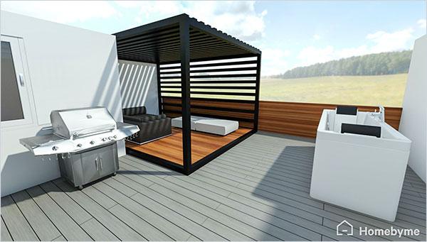 Donnez vie à vos idées de design d'intérieur avec la 3D d'Homebyme