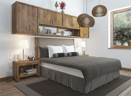 Des conseils de rangement pour une chambre à coucher calme ...